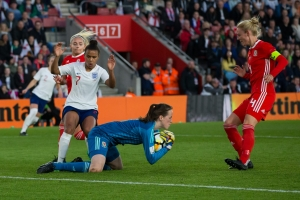 England Women v Wales Ladies - 2019 FIFA Women's World Cup qualifier, Football, St. Mary's Stadium, Southampton, UK, 06 APRIL 2017
