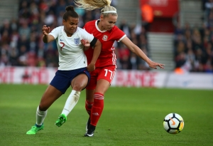 England and Wales  - 2019 FIFA Women's World Cup Group 1 qualifier