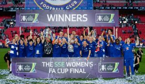 Arsenal Women v Chelsea Ladies - SSE Women's FA Cup Final - Wembley Stadium