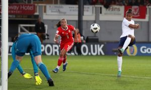 Wales Women v England Women - FIFA Women's World Cup 2019 - UEFA Qualifier - Group 1 - Rodney Parade